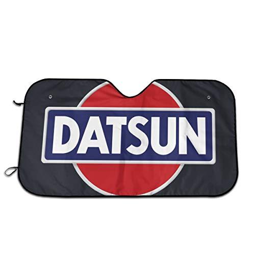 - Nixboser Datsun Emblem Car Logo Car Windshield Sun Shade Foldable Front Window Sun Shade for Truck SUV Cute Funny