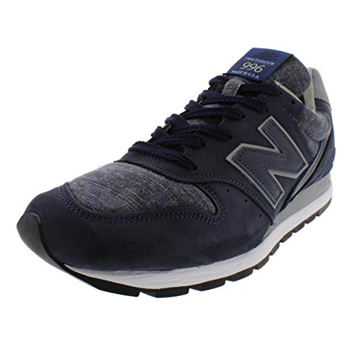 (New Balance Mens 996 Running Camouflage Athletic Shoes Navy 9 Medium (D) )