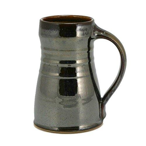 20oz Tankard Beer Mug with Metallic Brown ()