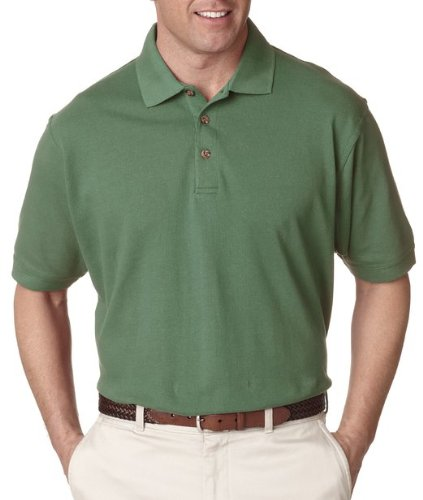 UltraClub Mens Classic Pique Polo 8535 - ()