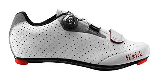 Fizik hell Weiß noir Chaussures – Grau Cyclisme De Rouge R5b cKlFT1J