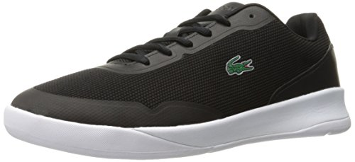 Lacoste Mens Light Spirit 117 1 Sneaker Casual Moda Scarpa Nera