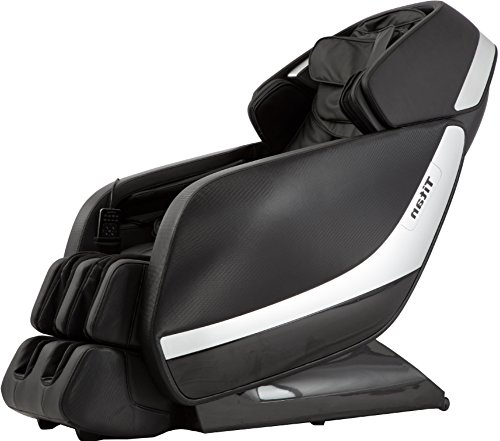 Titan PRO Jupiter XL A Massage Chair, Black, Zero Graivty Recline System, 3D Massage Technology, L-Track Massage, Rolling and Scrapping Dual Action Foot Massage, 9 Pre-Set Program