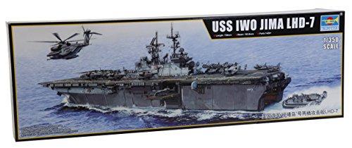 トランペッター 1/350 強襲揚陸艦 LHD-7 イオー ジマ 05615 プラモデル
