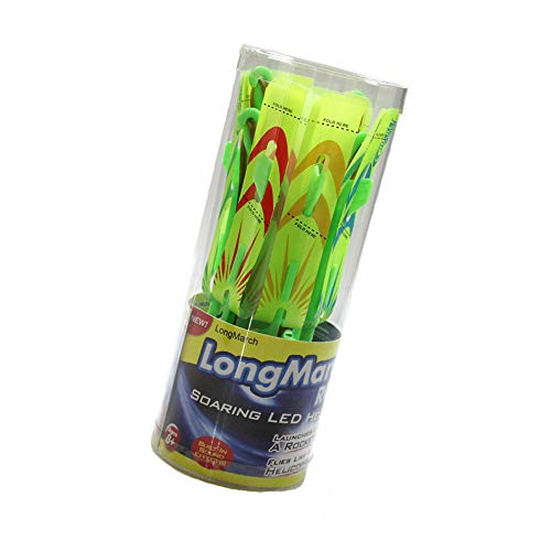 - LongMarch New Upgrade Amazing Slingshot LED Helicopters (Cylindrical Packaging)