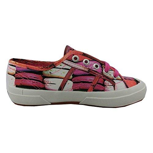 para Dahlia de Zapatillas deporte lona Macarons de Superga mujer 46qXw74