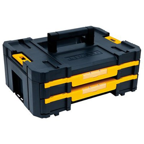 DEWALT TSTAK Tool Storage Organizer, Double Drawers (DWST17804) by DEWALT