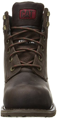Caterpillar Women's Kenzie Steel Toe Work Boot, Bark, 9 M US by Caterpillar (Image #4)
