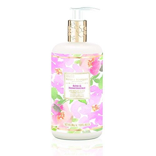 (Baylis & Harding Royale Bouquet Rose and Honeysuckle Luxury Hand Wash 16.9 Fl. Oz. (Made in England))