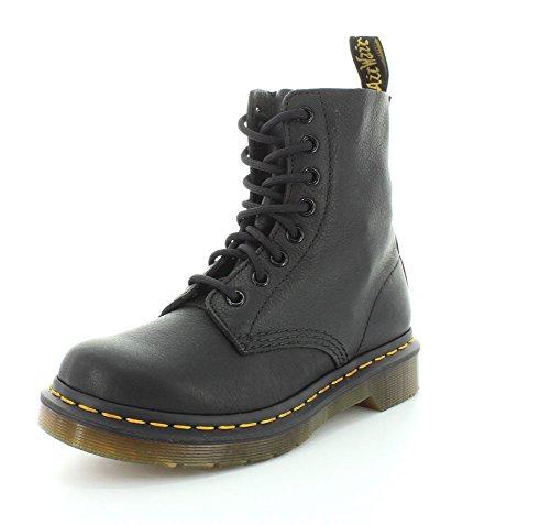 Dr. Martens Women's Pascal Combat Boot, Black, 3 UK/5 M US R13512006