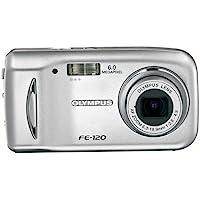 Olympus FE-120 6MP Digital Camera with 3x Optical Zoom