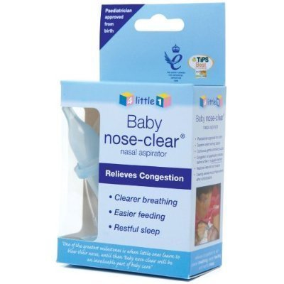 Baby Nasal Aspirator by Baby Nose Clear - Award Winning Nasal Aspirator with No Filters Required by Baby Nose Clear