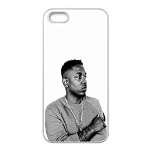 Kendrick Lamar HipHop Singer iPhone 5 5s Cell Phone Case White Protect your phone BVS_590772