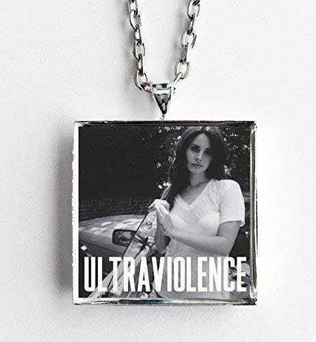 Amazon Com Album Cover Art Necklace Lana Del Rey Ultraviolence Handmade
