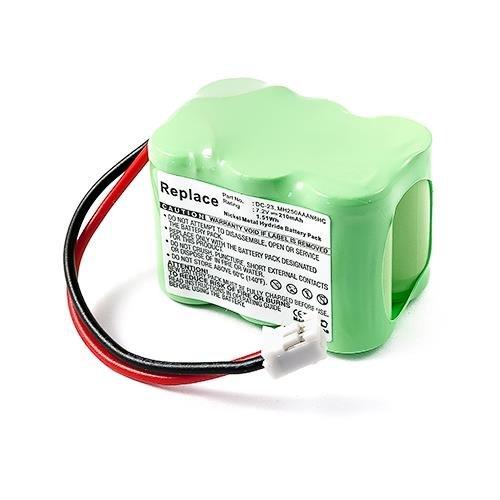 (SportDOG SportHunter SD-800 ST-120 Transmitter Dog Collar Battery (Ni-MH, 7.2V, 210 mAh) Replacement for Sportdog DC-23 Battery)