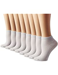 Women's Athletic No Show Running Socks 8 Pack
