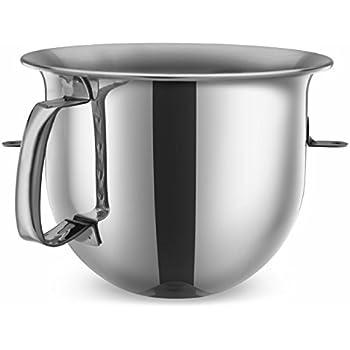 Amazon Com Kitchenaid Ksmf6peh 6 Qt Stainless Steel Bowl
