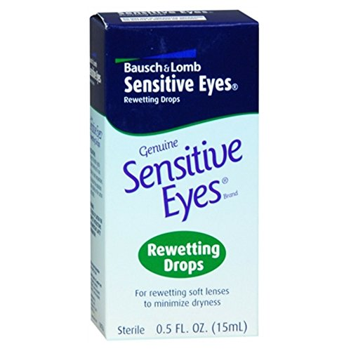 Bausch & Lomb Sensitive Eyes Rewetting Drops 0.5 FL OZ