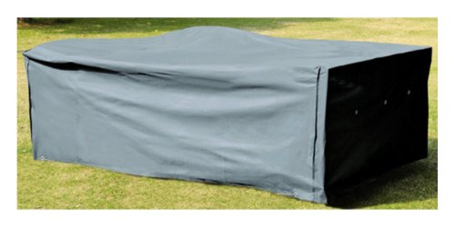 Schutzhülle für Tisch Stühle Sitzgruppen Sitzgarnituren 200 x 160 - Oxford Gewebe 420 D - Farbechtheit TÜV SÜD geprüft
