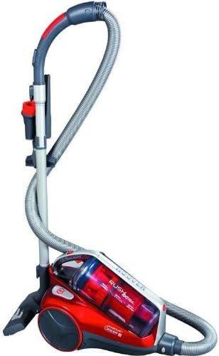 Hoover TRE 1410 aspirador - Aspiradora (1400W, 250W, Mecánico, Cilindro, Sin bolsa, Metal) Gris, Rojo: Amazon.es: Hogar