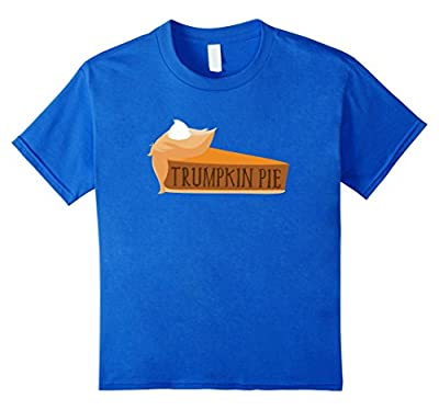 Funny Trump Trumpkin Pie Thanksgiving Fall Shirt