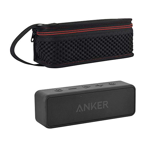 Carrying Zipper - TXEsign Home/Outdoor Protective Travel Lycra Zipper Carrying Case Bag for Anker SoundCore Boost 20W Bluetooth Speaker
