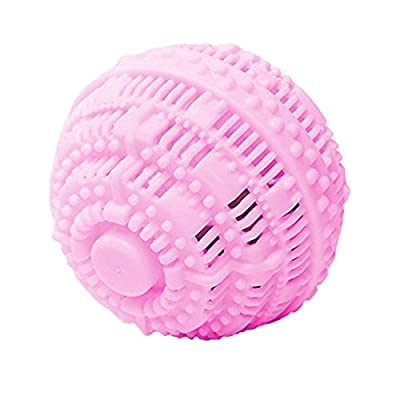 BERON Refillable All Natural Eco-Friendly Wash Ball Super Laundry Balls for 1500 Washings-Hard Version