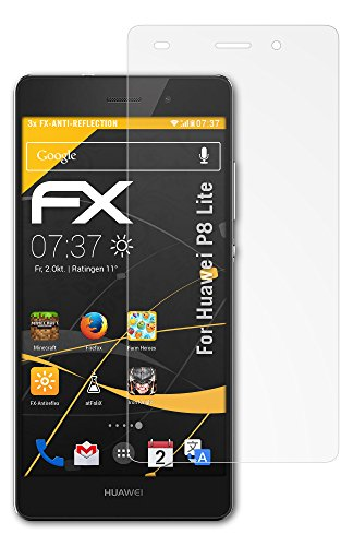 atFoliX Protector de visualizacin para Huawei. Smartphone & Handy Ascend P... Serie Devices