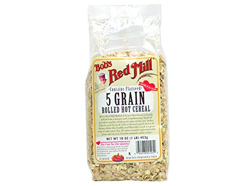 5 Grain Cereal (Bob's Red Mill 5 Grain Rolled Cereal (4x16 Oz))