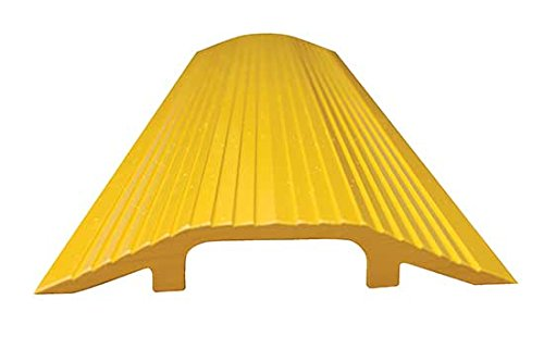Cable Ramp - BWR Series; Overall (W x H): 7-1/8'' x 1-1/8''; Length: 48''; Usable Span (W x H): 2-5/8'' x 3/4''; Single Wheel Capacity (LBS): 10,000; Finish: Yellow by Beacon World Class Products