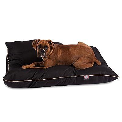 Black Super Value Pet Dog Bed By Majestic Pet