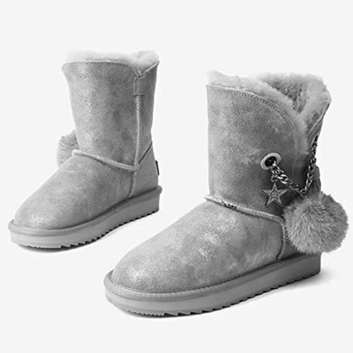 Casual Caldi color Neve Calde Size Scarpe Stivali Da Scarponi Velluto Stivaletti Di Camping Per Capelli Outdoor Corti E Donna Black Passeggio Pink Corto Sneakers 34 XRwqZC