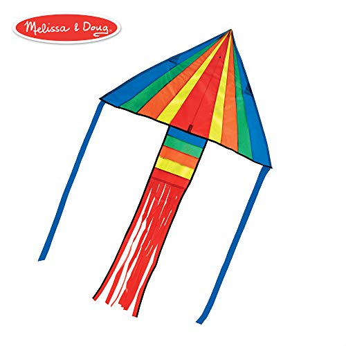 Melissa & Doug Rainbow Rocket Delta Kite Children's Kite