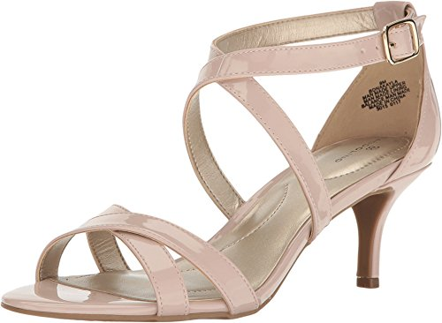 Bandolino Women's Nakayla Heeled Sandal, Dusty Pink, 8.5 M US