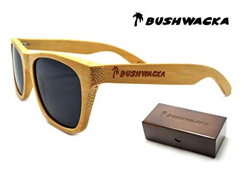 mano madera de Venecia Bushwacka Playa Polarizado de Nuevo Hecho a sol Gafas BXOFqn