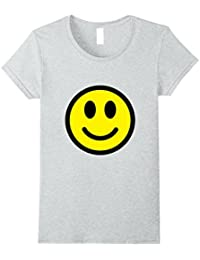 Retro Smiley Face Yellow Emoticons Novelty 60s Style T-Shirt
