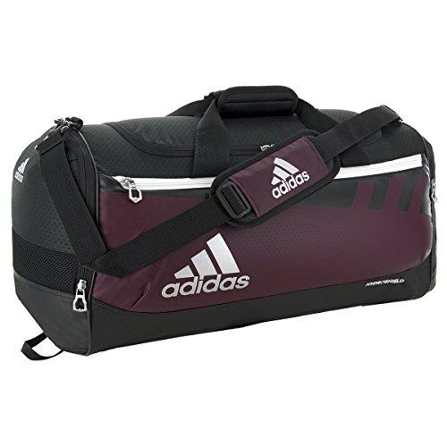 adidas Team Issue Duffel Bag, Maroon, Medium ()