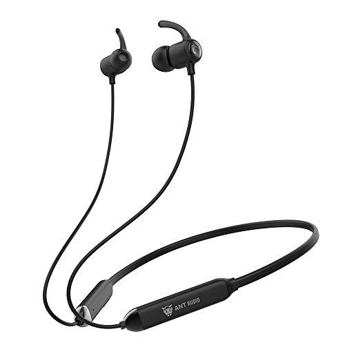 (Renewed) Ant Audio Wave Sports 450 Bluetooth Wireless Neckband Earphone with IPX5 (Black) (B07PZKK63T) Amazon Price History, Amazon Price Tracker