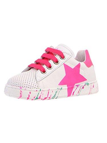 Naturino Mädchen Sneaker * BIANCO FUXIA