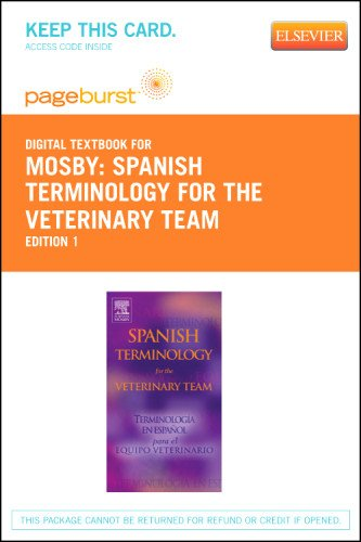 Spanish Terminology for the Veterinary Team - Elsevier eBook on VitalSource (Retail Access Card), 1e