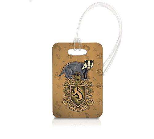 Harry Potter (Hufflepuff) Luggage Tag Keychain Bag Charm Tag