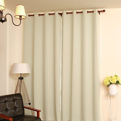From USA Green 84 Drapes Thermal Lined Blackout Window