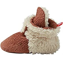 Zutano Cozie Fleece Furry Lined Bootie with Grippers