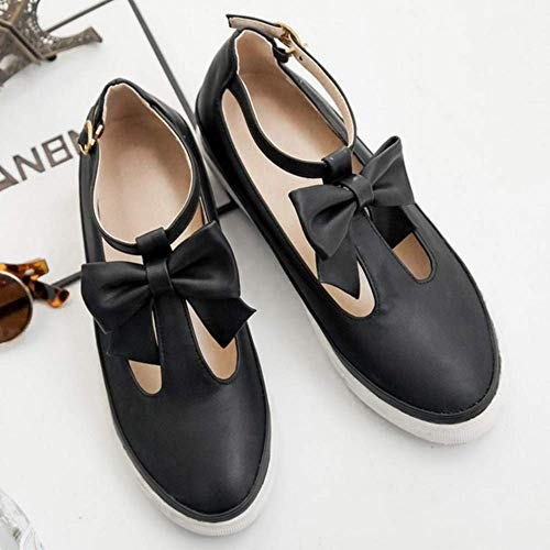 Strap Nero T Brogue Casual Donne Lydee Scarpe PSOwv