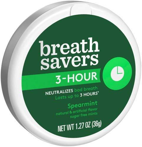 BreathSavers 3 hour Breathmints (Pack of 24)