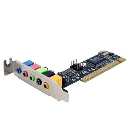 StarTech.com - Tarjeta de sonido (5.1 channels, 24 bit, PCI ...