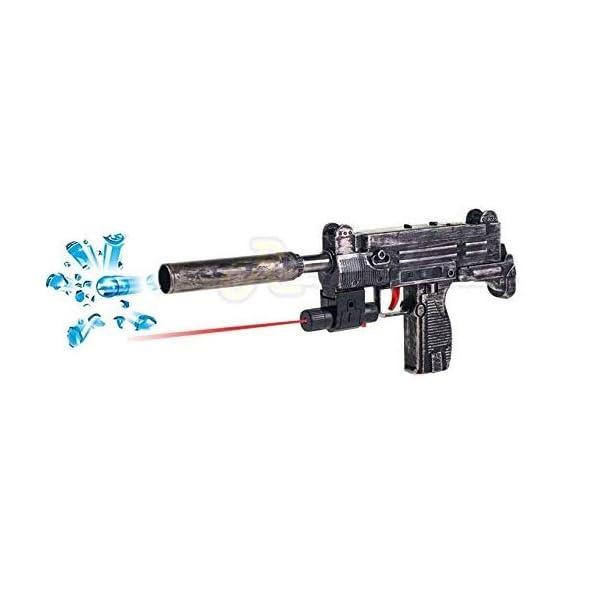 nandani enterprises Blaze Storm 2 in 1 Pub-G Theme Gun Toy with 1000+ Crystal Water & Soft Foam Bullet Balls
