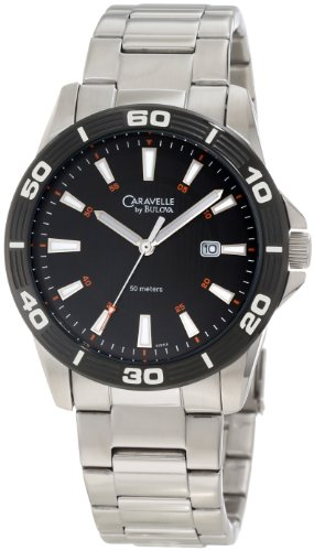 Caravelle by Bulova Men's 45B118 Sporty Bracelet Watch
