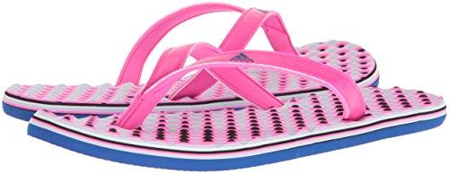 Pictures of adidas Women's Eezay Flip Flop Shock CG3552 Shock Pink/Collegiate Royal/Aero Blue 4