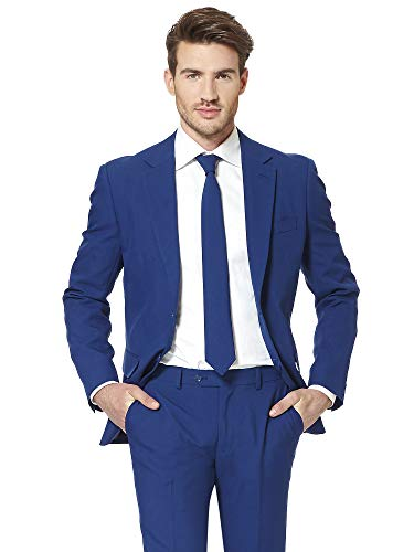 OppoSuits Solid Color Prom Suits for Men Comes with Pants, Jacket and Tie